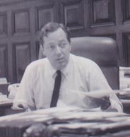 New Orleans District Attorney Jim Garrison.