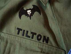 Patch worn by John S. Tilton