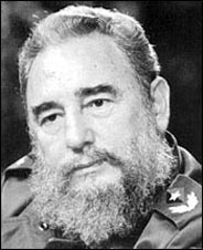 Cuban leader Fidel Castro, who has ruled Cuba since 1959 and outlasted all of his enemies.