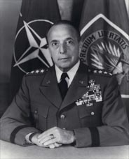 General Lyman Lemnitzer, who was Chairman of the Joint Chiefs of Staff when Operation Northwoods was developed in early 1962. Photo taken 2 Jan 1963 after his appointment as Supreme Allied Commander Europe.